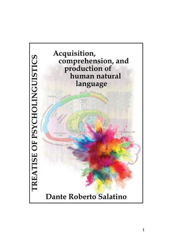 Treatise Of Psycholinguistics By Dante Salatino Issuu