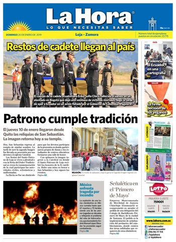 008e730d84e18 Diario La Hora Loja 20 de Enero 2019 by Diario La Hora Ecuador - issuu