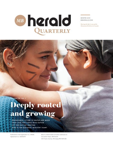 MB Herald Winter 2019 by Mennonite Brethren publications - issuu