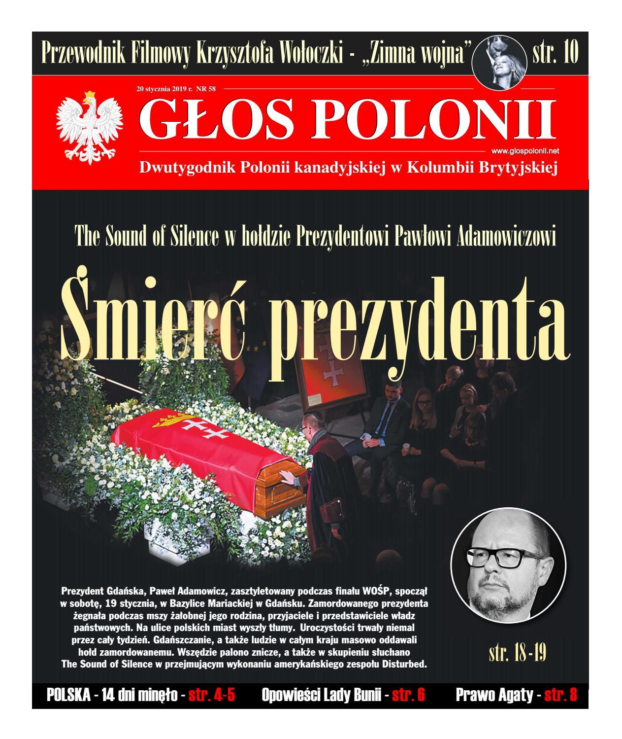 Głos Polonii Nr 58 By Rekacja Issuu