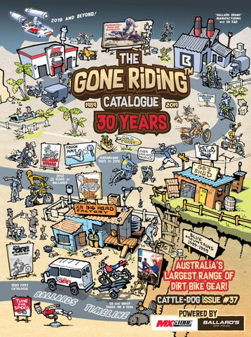 The Gone Riding Catalogue - Issue 37 by Ballard's Off Road