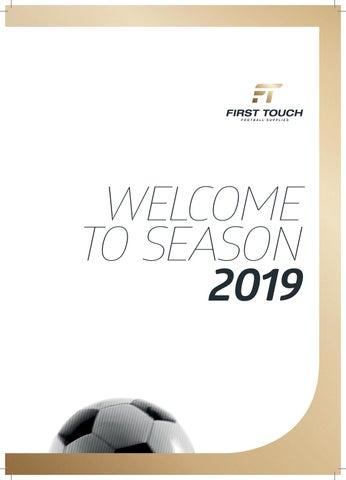 promo code 1916a 3e0a8 2019 First Touch Football Supplies Catalogue