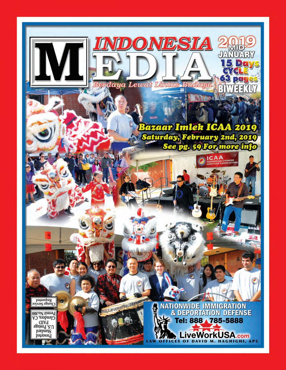 Indonesia Media Issue Mid January 2019 By Indonesia Media