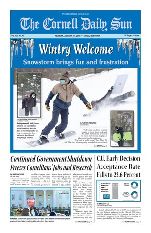 01-21-19 entire issue hi res by The Cornell Daily Sun - issuu