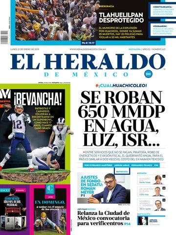 21 enero 2019 by El Heraldo de México - issuu 6c6338738cd8d