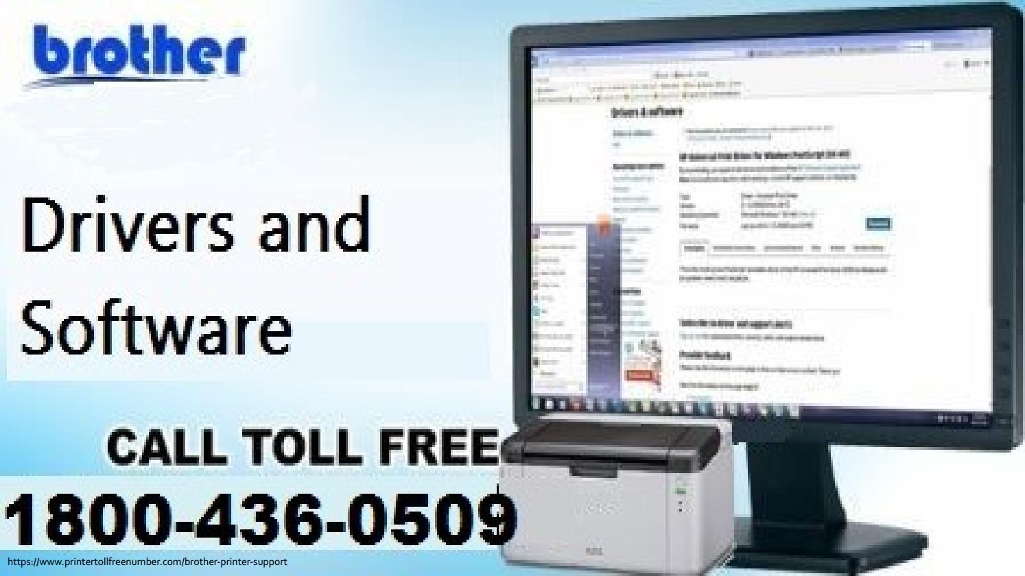 Download Brother Printer Driver 1800-436-0509 Brother printer