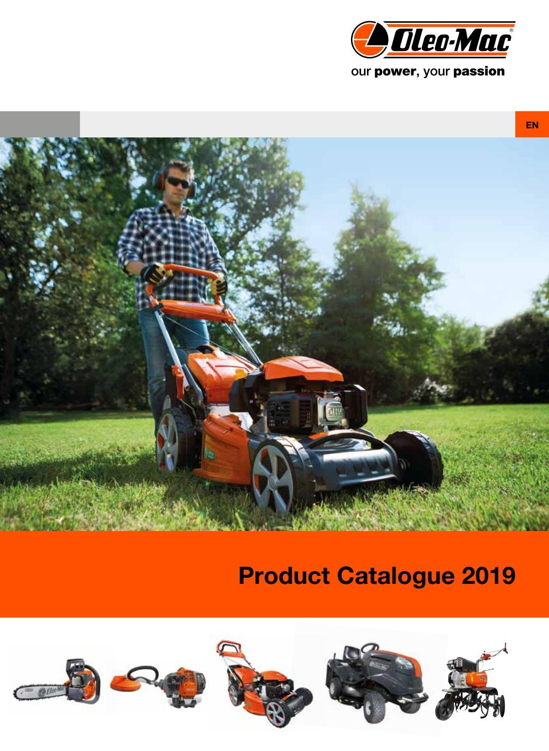 Oleo Mac Product Catalogue 2019 By Emak Spa Issuu