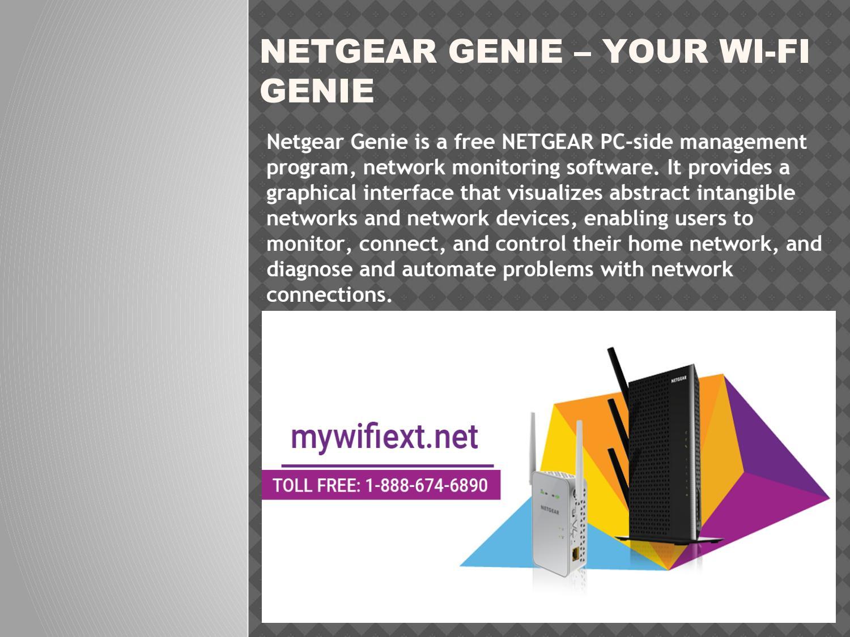 Netgear Genie – Your Wi-Fi Genie
