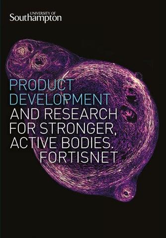 Fortisnet brochure by University of Southampton - issuu