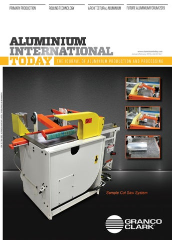 Aluminium International Today January/February 2019 by
