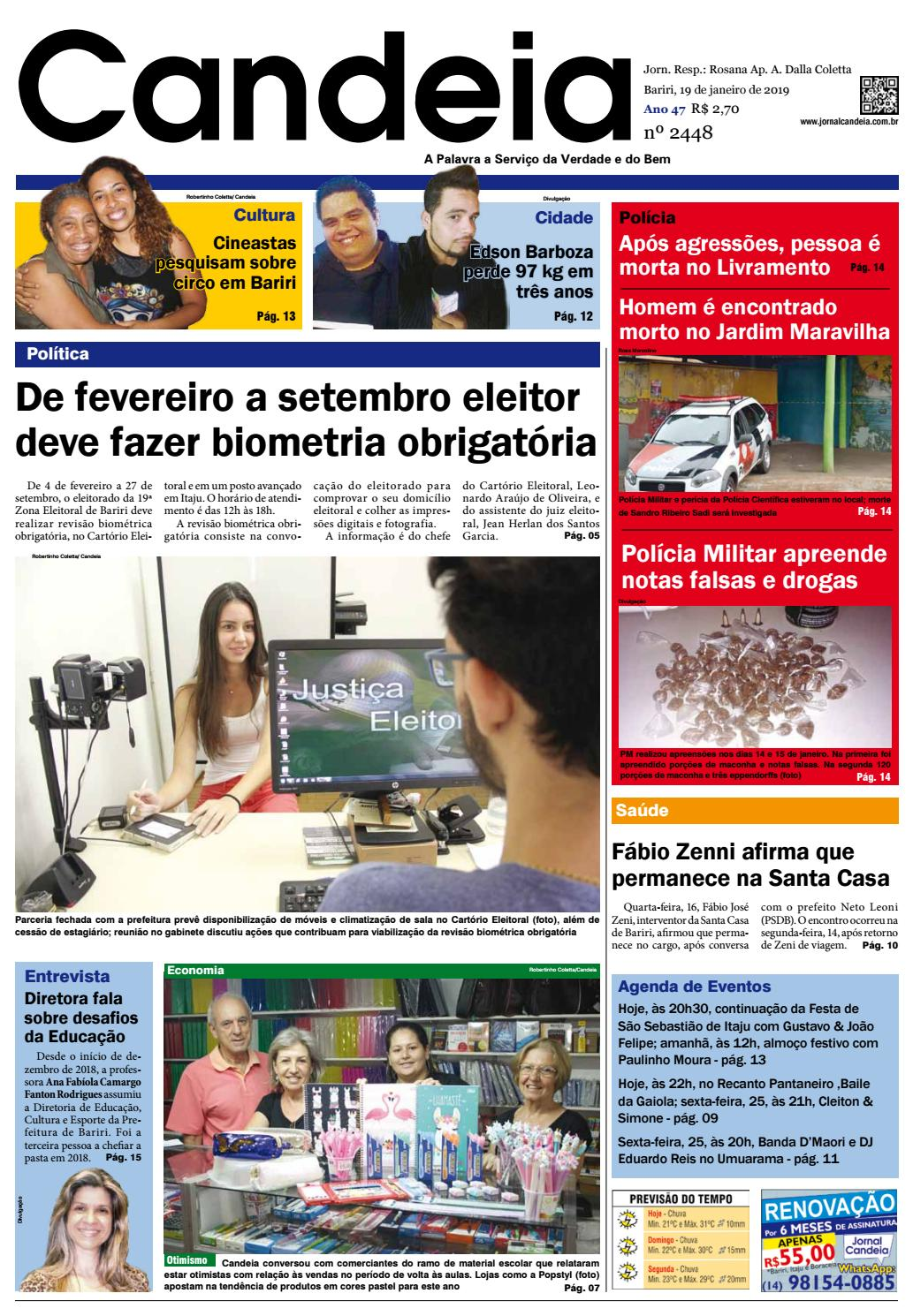Jornal Candeia 19-01-2019 by Jornal Candeia - issuu a84cd70a04d
