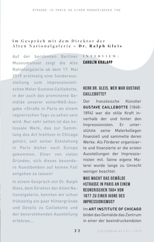 Page 77 of Interview Alte Nationalgalerie Berlin