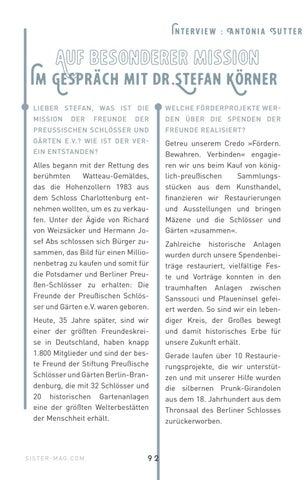 Page 92 of Interview mit Dr. Stefan Körner zum Thema Kunstförderung