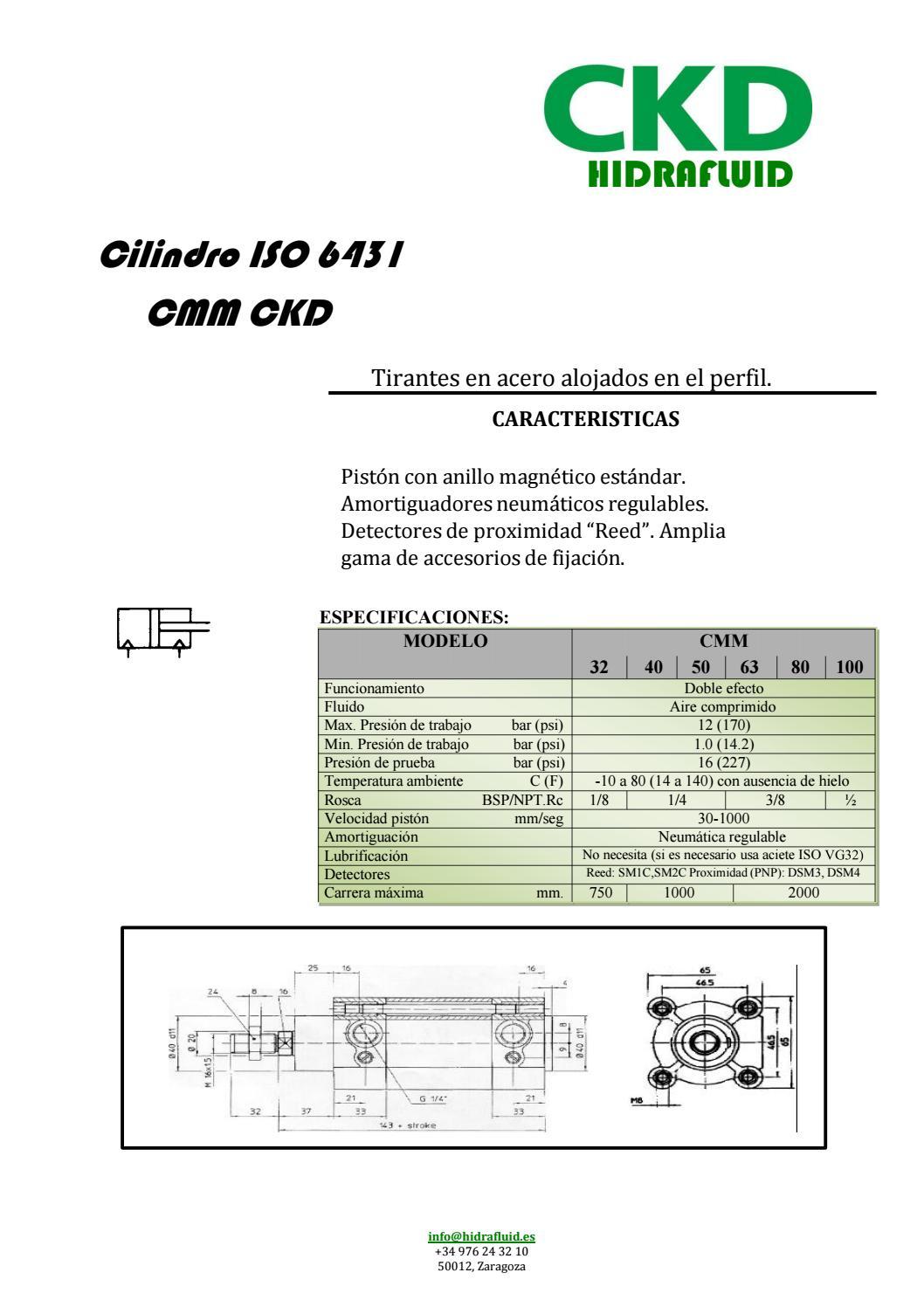 CILINDRO CMM CKD by hidrafluid - issuu