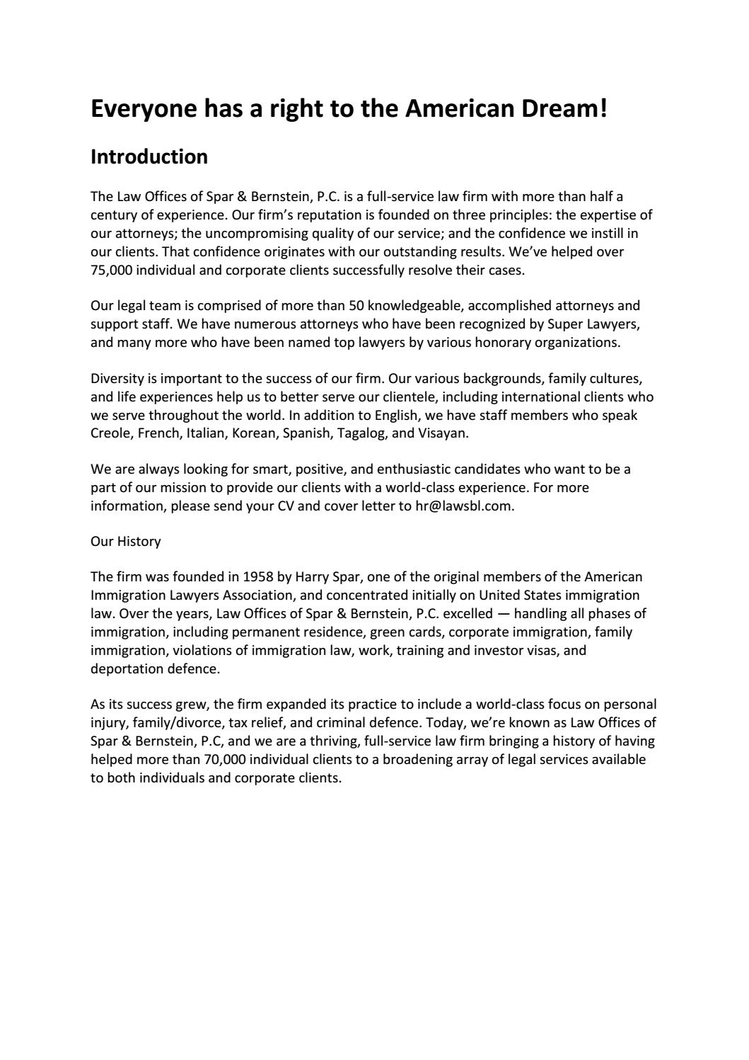 Law Firm Cover Letter from image.isu.pub