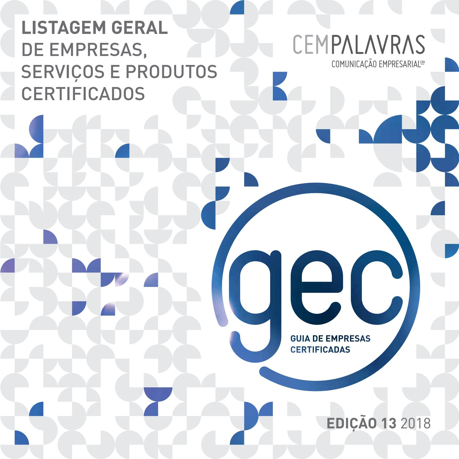 82bf2a3ee08 LISTAGEM GEC 2018 by cempalavras.pt - issuu