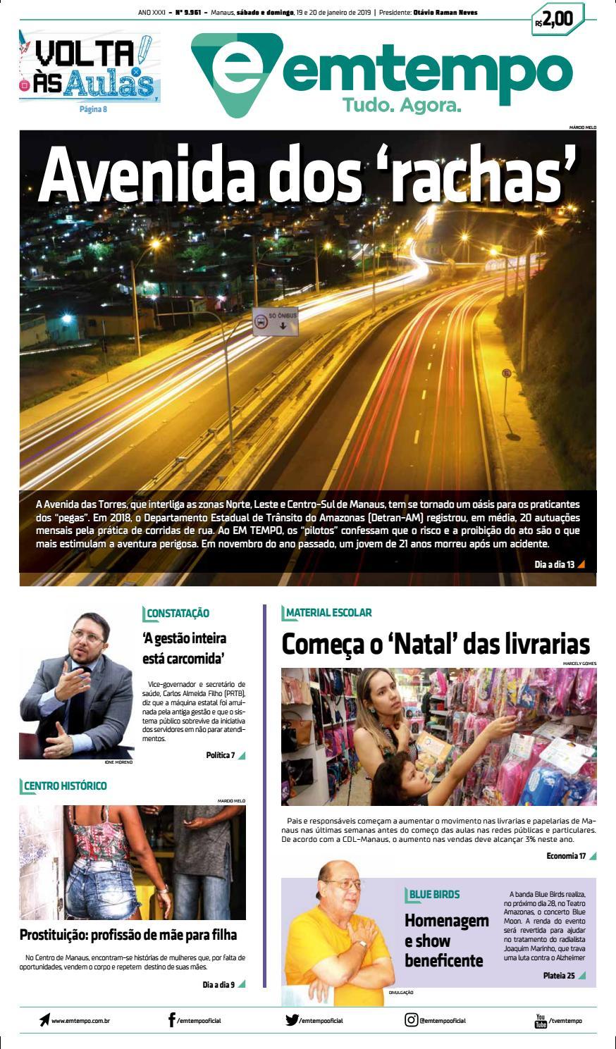 7870f46492c23 Em Tempo - 20 de Janeiro de 2019 by Amazonas Em Tempo - issuu