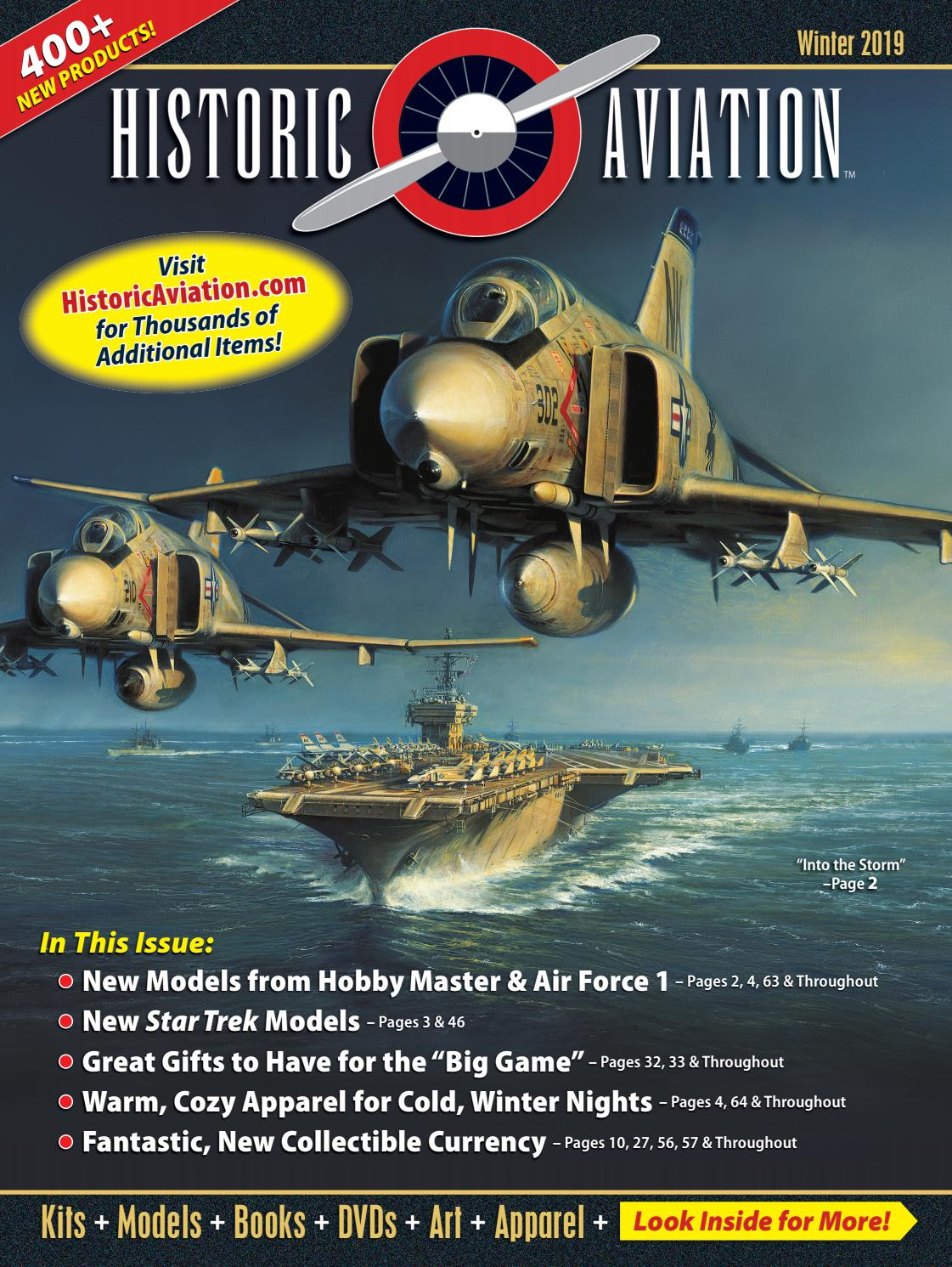 bc14c72eb09 Historic Aviation - Winter 2019 Catalog by Historic Sales - issuu