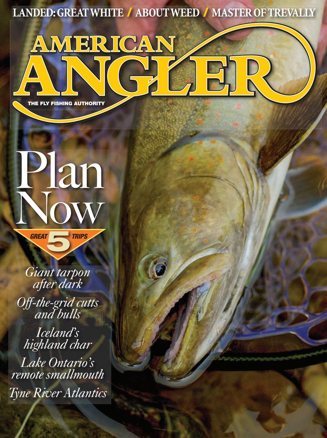 f42115e1c07af American Angler Nov-Dec Issue 2018 by Cowboy Publishing Group - issuu