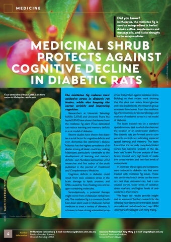 Page 6 of Medicine stories from Asia Research News 2019 magazine