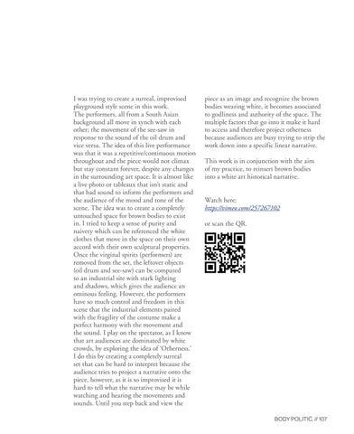 Page 107 of Children of Venus by Uzma Chowdhury (They/Them)