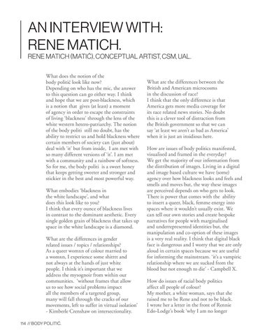 Page 114 of An Interview with: Rene Matich