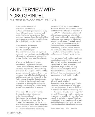 Page 120 of An interview with: Yoko Grindel