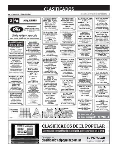 Clasificados del día 20 01 2019 by diarioelpopular - issuu afd6cc9b008