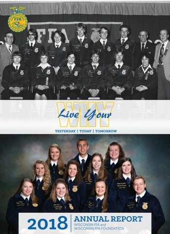 27c7f1011a6a Wisconsin FFA and Wisconsin FFA Foundation 2018 Annual Report by ...