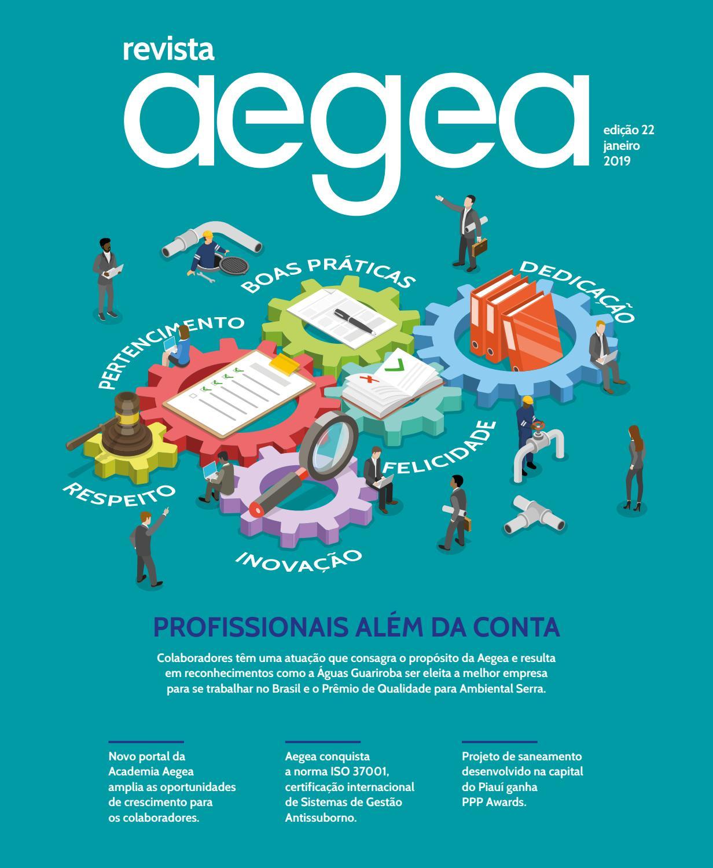 605f61fe8 Revista Aegea - Edição número 22 by Aegea Saneamento - issuu