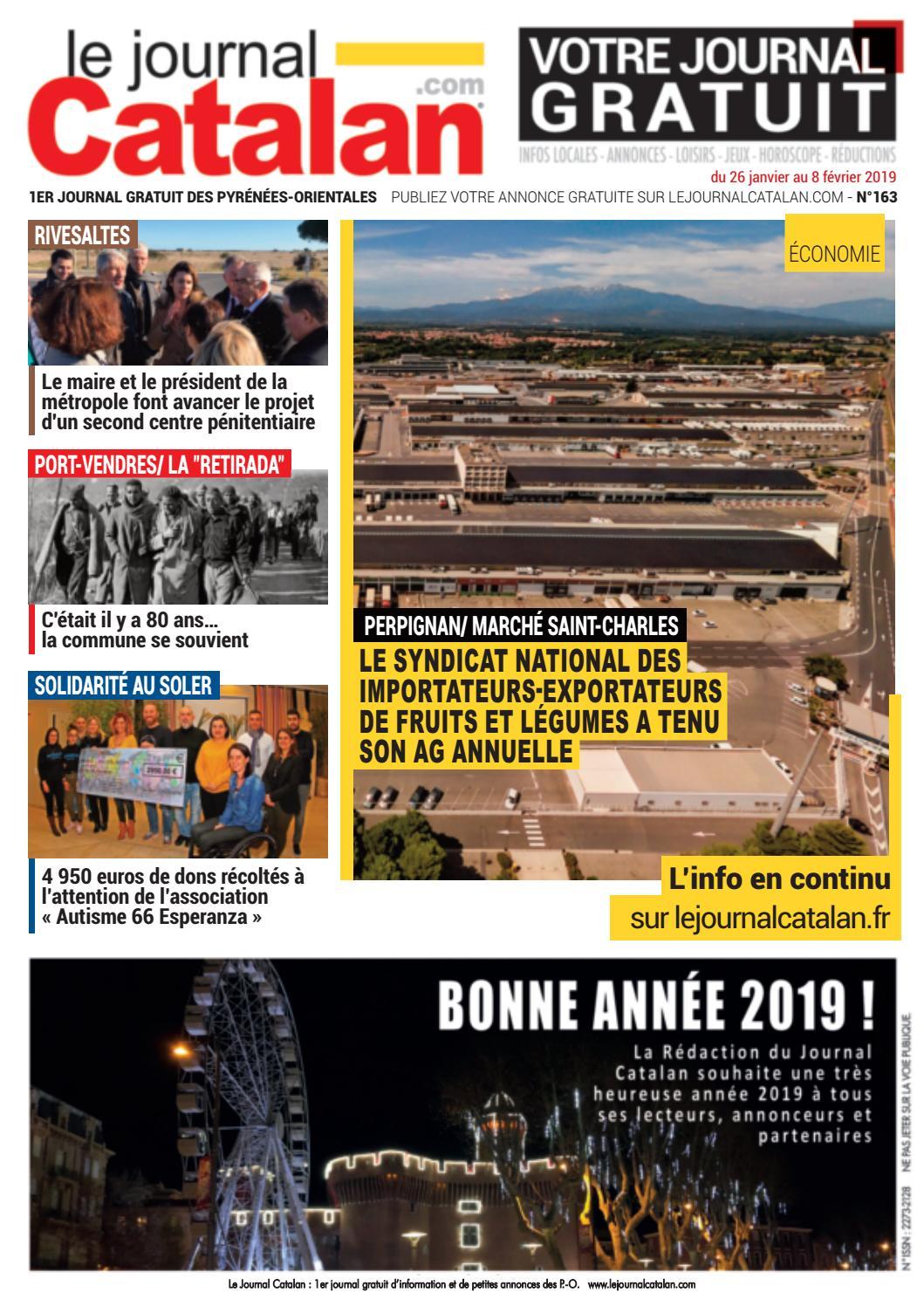 Le Journal Catalan N°163 1er magazine des Pyrénées