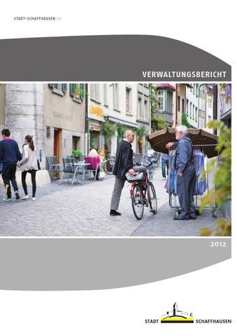 152fee388cd76d Stadt Schaffhausen Verwaltungsbericht 2012 by BBF.CH - issuu