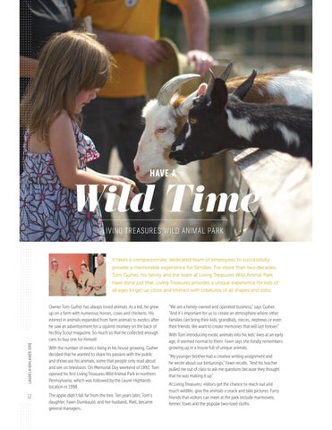 Page 14 of Have a Wild Time: Living Treasures Wild Animal Park