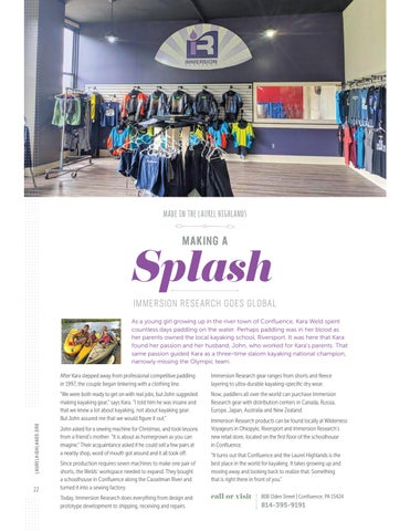 Page 24 of Making a Splash: Immersion Research Goes Global