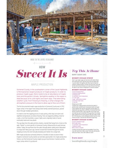 Page 25 of How Sweet It Is: Laurel Highlands Maple Syrup