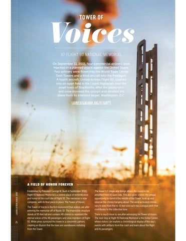 Page 28 of Tower of Voices at Flight 93 National Memorial