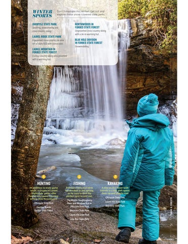 Page 31 of Find Adventure in our Parks & Forests