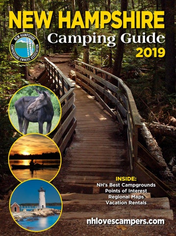 2019 NH Camping Guide by New Hampshire Campground Owners