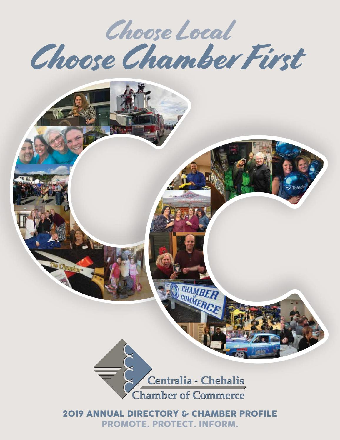 2019 Centralia-Chehalis Chamber of Commerce Buisness Directory by