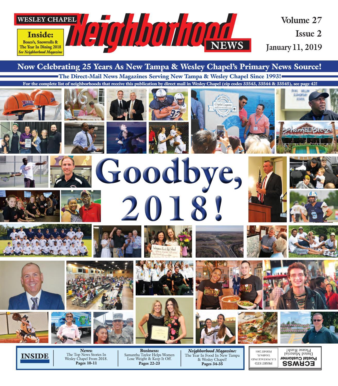 2c1589eaf49 Wesley Chapel Neighborhood News