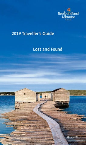 8275b31646 Newfoundland   Labrador Traveller s Guide by Newfoundland and ...