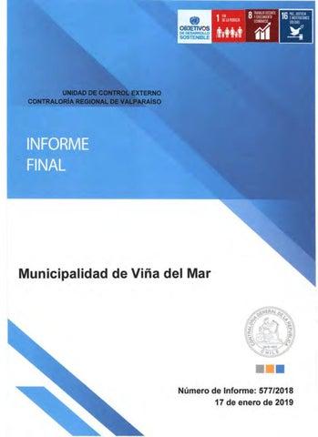 Informe Contraloría Municipalidad De Viña Del Mar By El