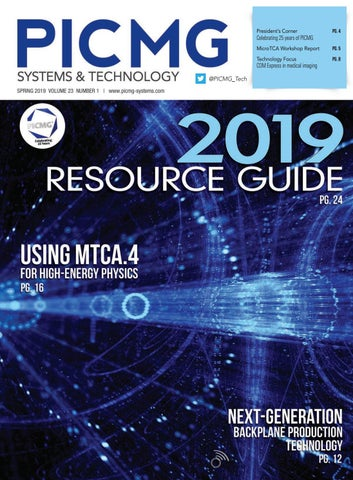 PICMG Systems & Technology with Resource Guide Fall 2019 by