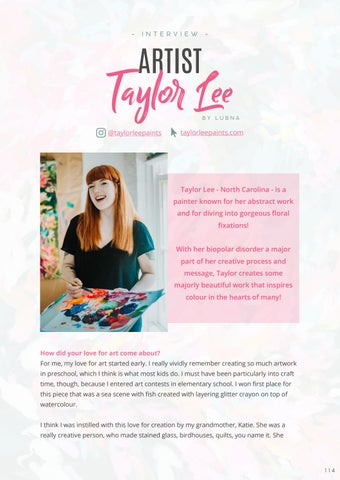 Page 116 of Abstract Painter: Taylor Lee