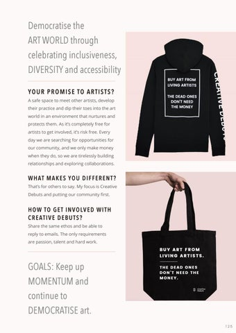 Page 127 of Democratising the Art Work: Creative Debuts