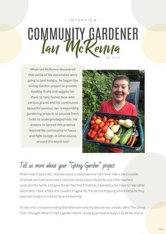 Page 141 of Community Gardener: Ian McKenna