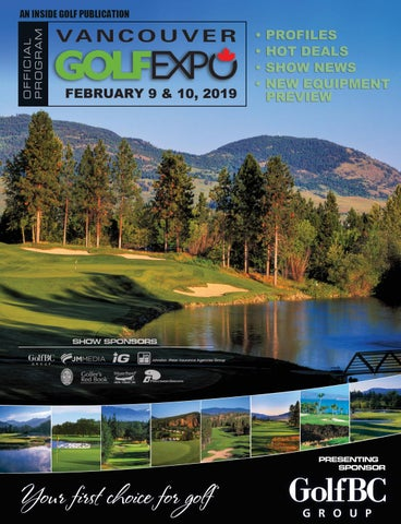 2019-Vancouver GOLFEXPO Mobile Friendly Show Program by Inside Golf