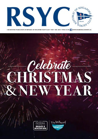RSYC MAGAZINE NOVEMBER/DECEMBER 2018 by Republic of Singapore Yacht