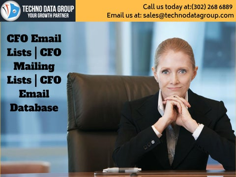 CFO Email Lists | CFO Mailing Lists | CFO Email Database in usa by