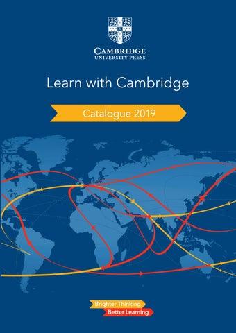 School Catalogue 2019 India by Cambridge University Press Education